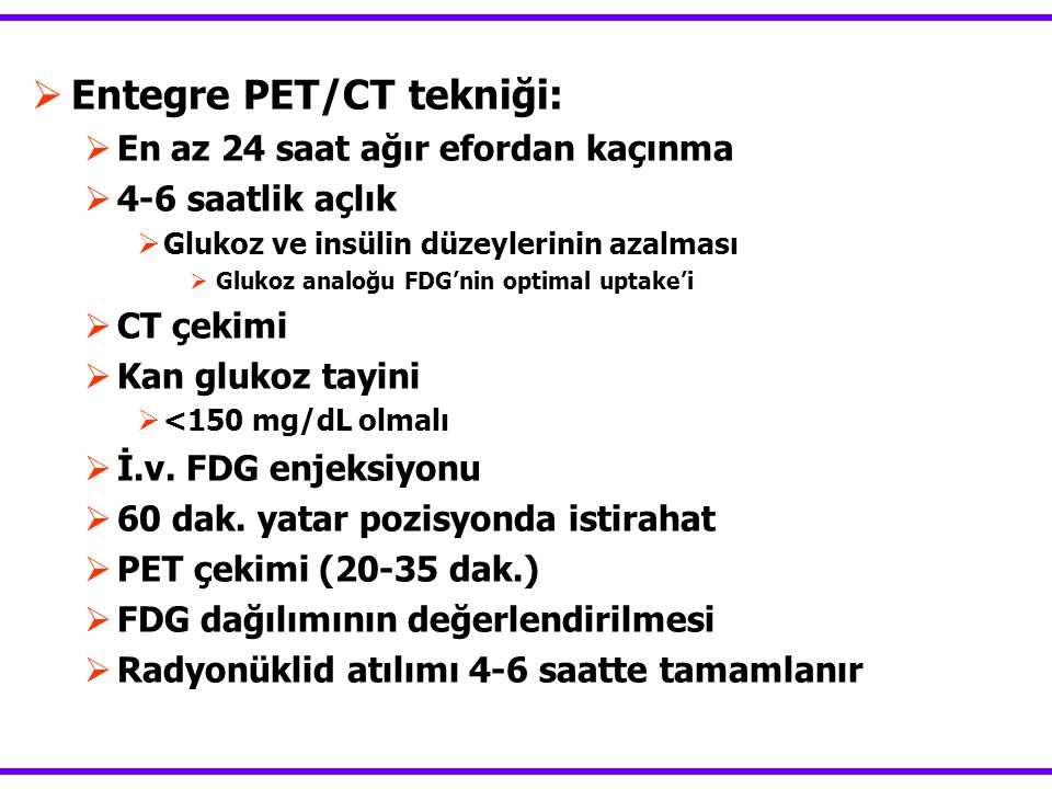 Entegre PET/CT tekniği: