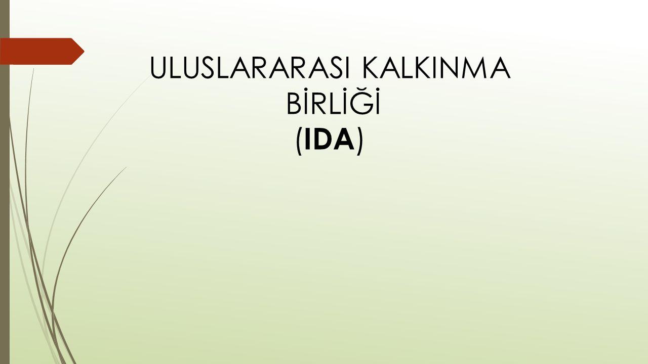 ULUSLARARASI KALKINMA BİRLİĞİ (IDA)
