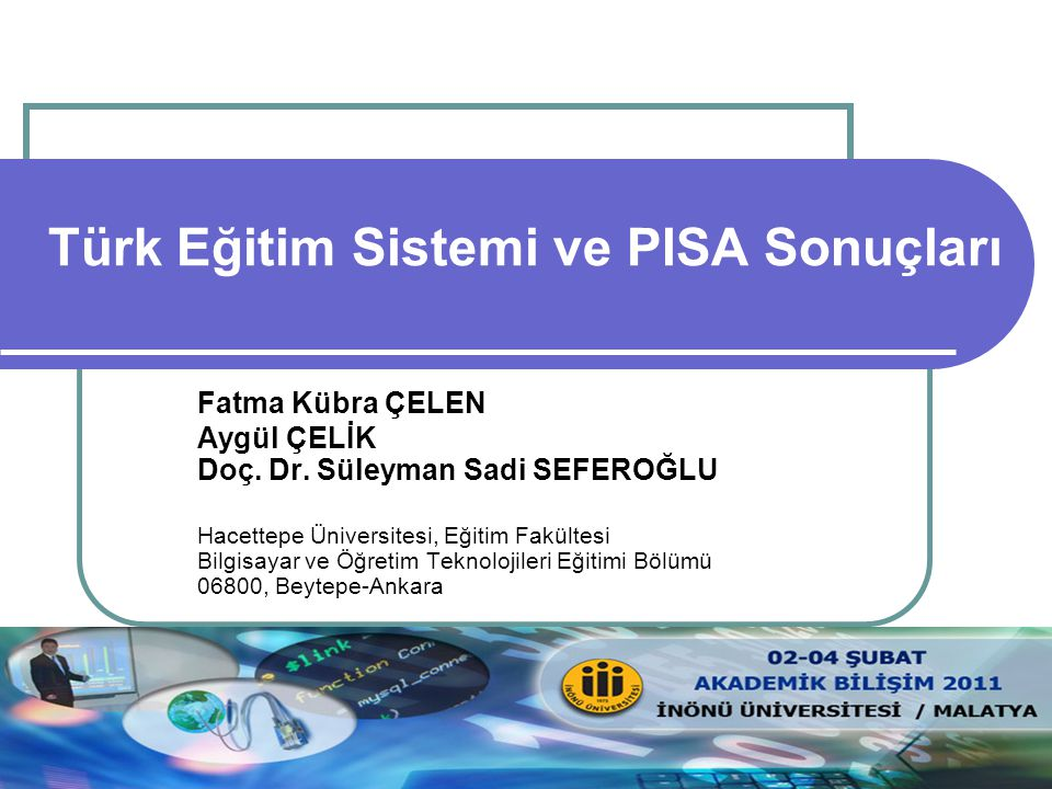 Türk Eğitim Sistemi ve PISA Sonuçları