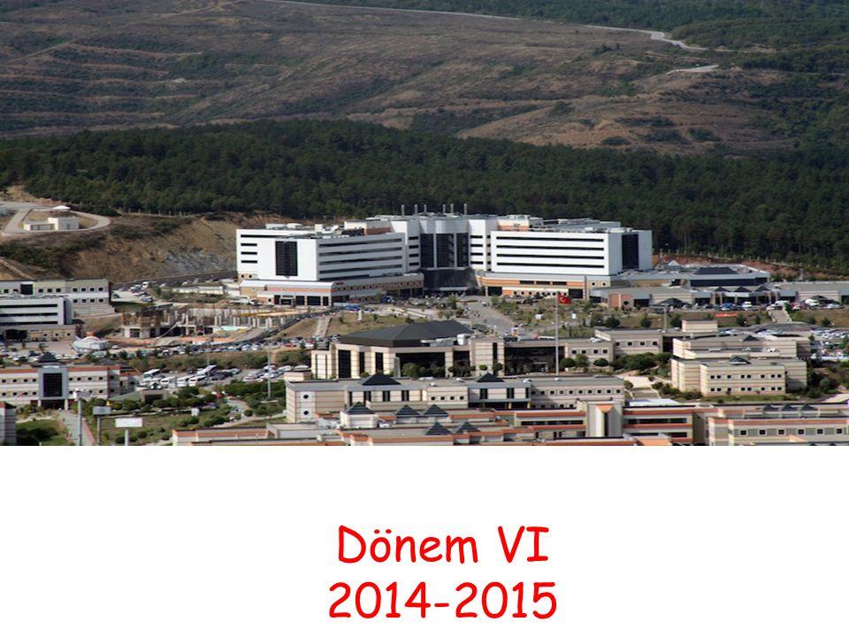 Dönem VI 2014-2015