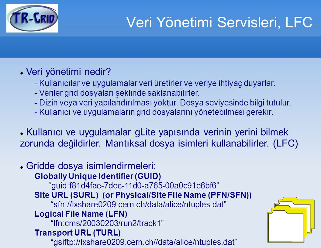 Veri Yönetimi Servisleri, LFC