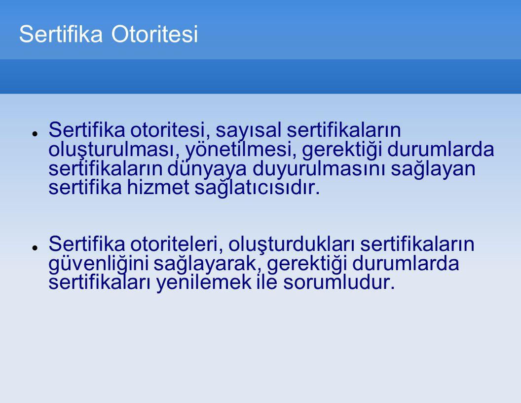 Sertifika Otoritesi