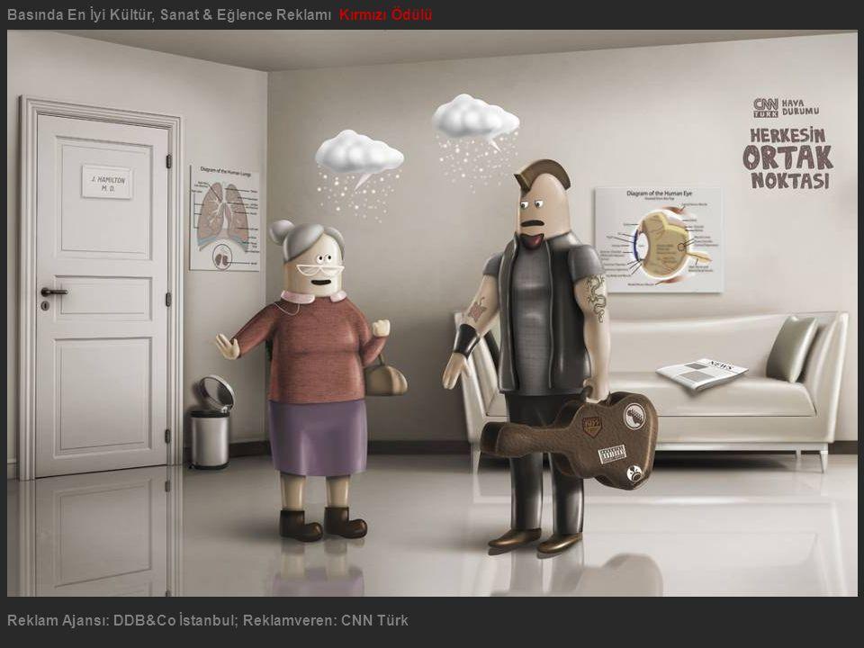 Basında En İyi Kültür, Sanat & Eğlence Reklamı Kırmızı Ödülü