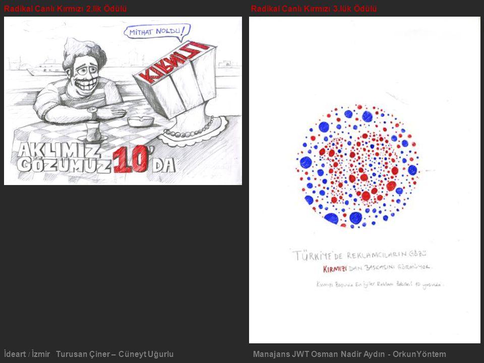 Radikal Canlı Kırmızı 2.lik Ödülü Radikal Canlı Kırmızı 3.lük Ödülü