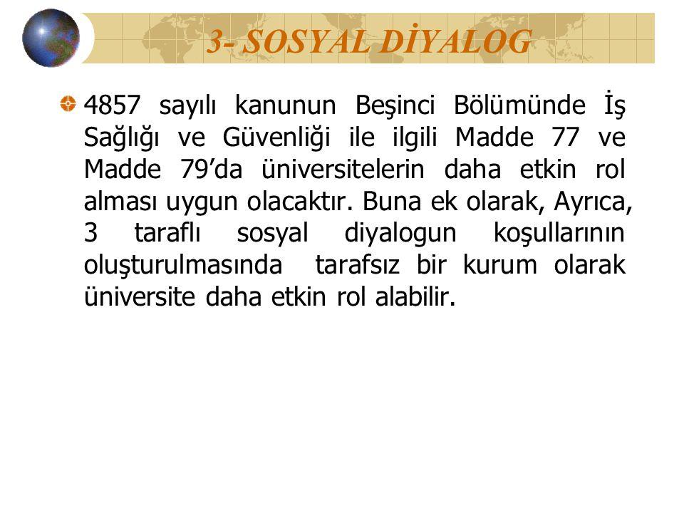 3- SOSYAL DİYALOG