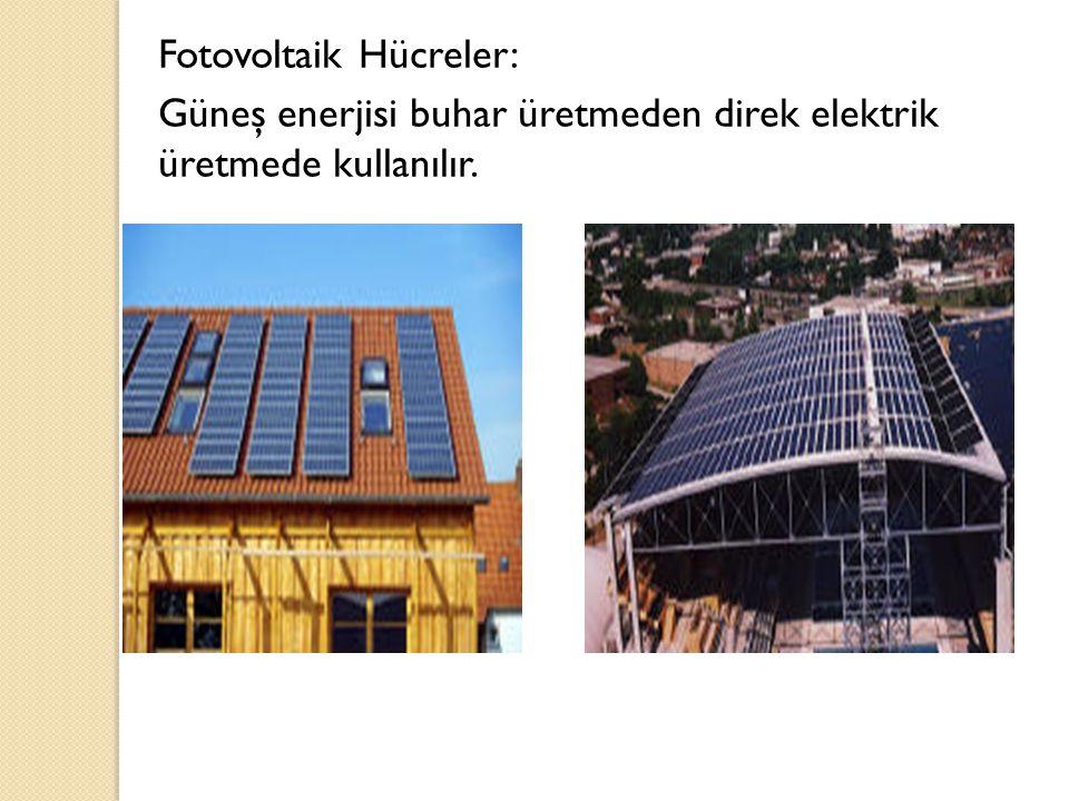 Fotovoltaik Hücreler: