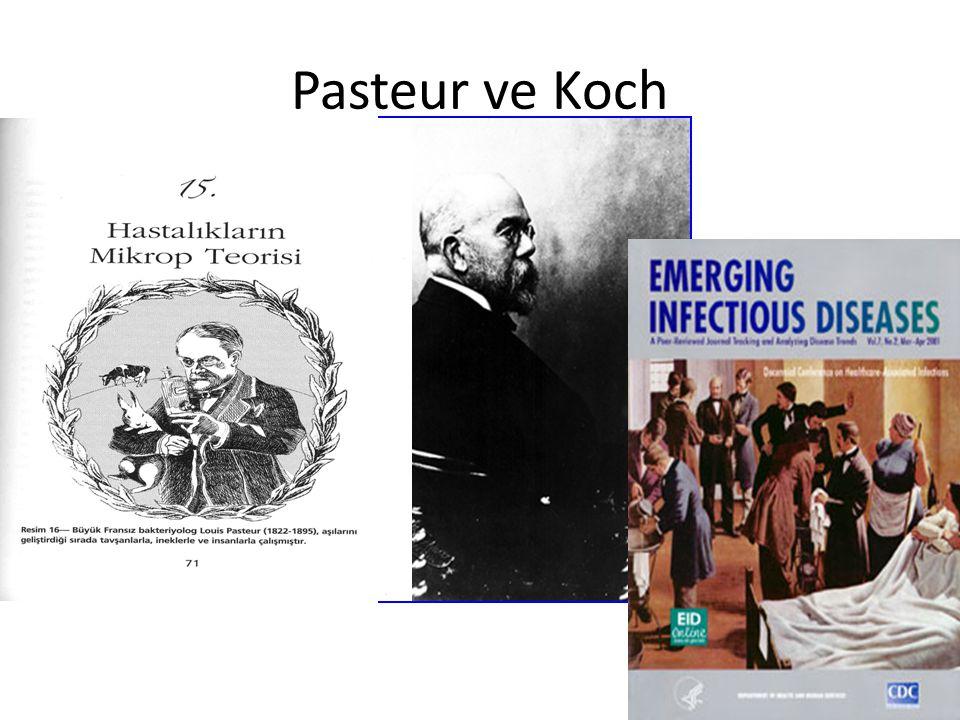 Pasteur ve Koch