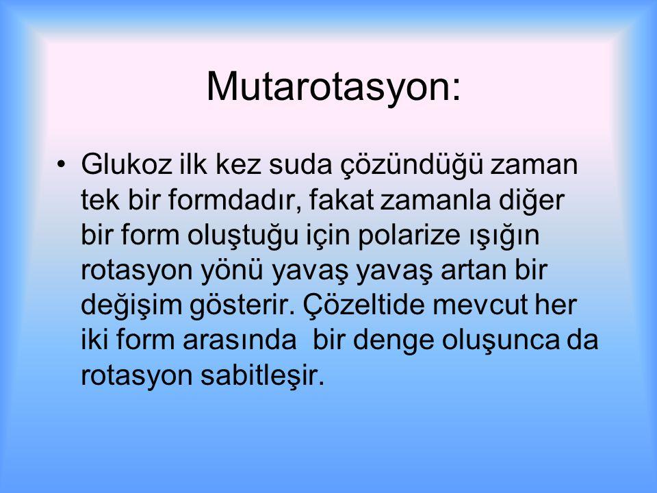 Mutarotasyon: