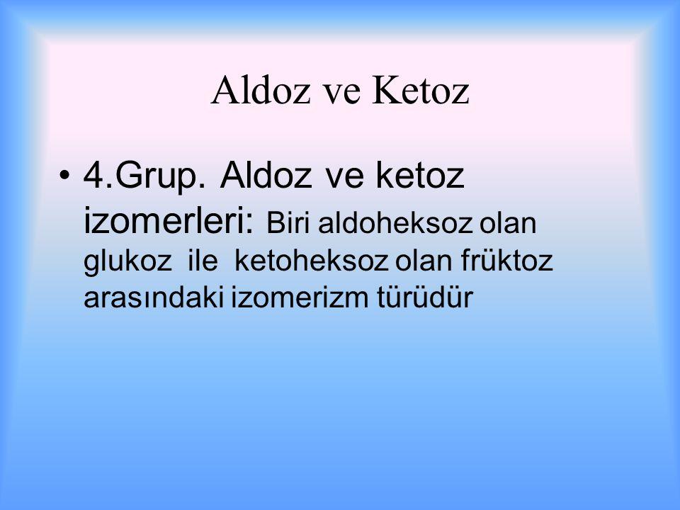 Aldoz ve Ketoz 4.Grup.
