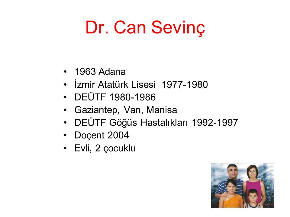 Dr. Can Sevinç 1963 Adana İzmir Atatürk Lisesi 1977-1980