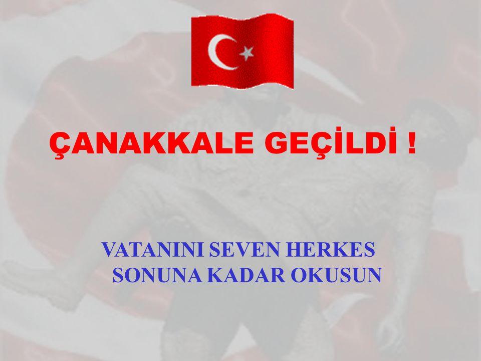 VATANINI SEVEN HERKES SONUNA KADAR OKUSUN