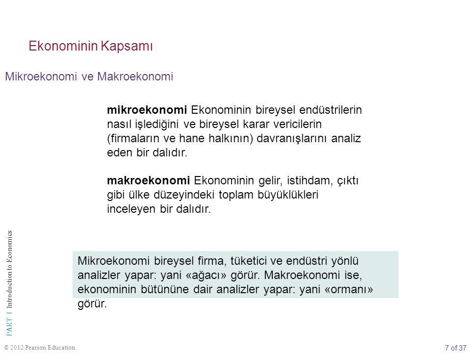 Ekonominin Kapsamı Mikroekonomi ve Makroekonomi