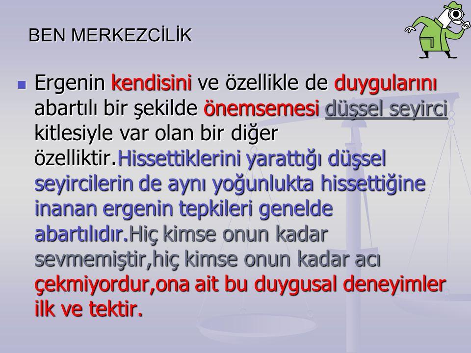 BEN MERKEZCİLİK