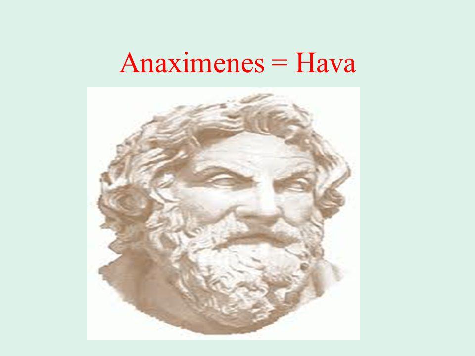 Anaximenes = Hava