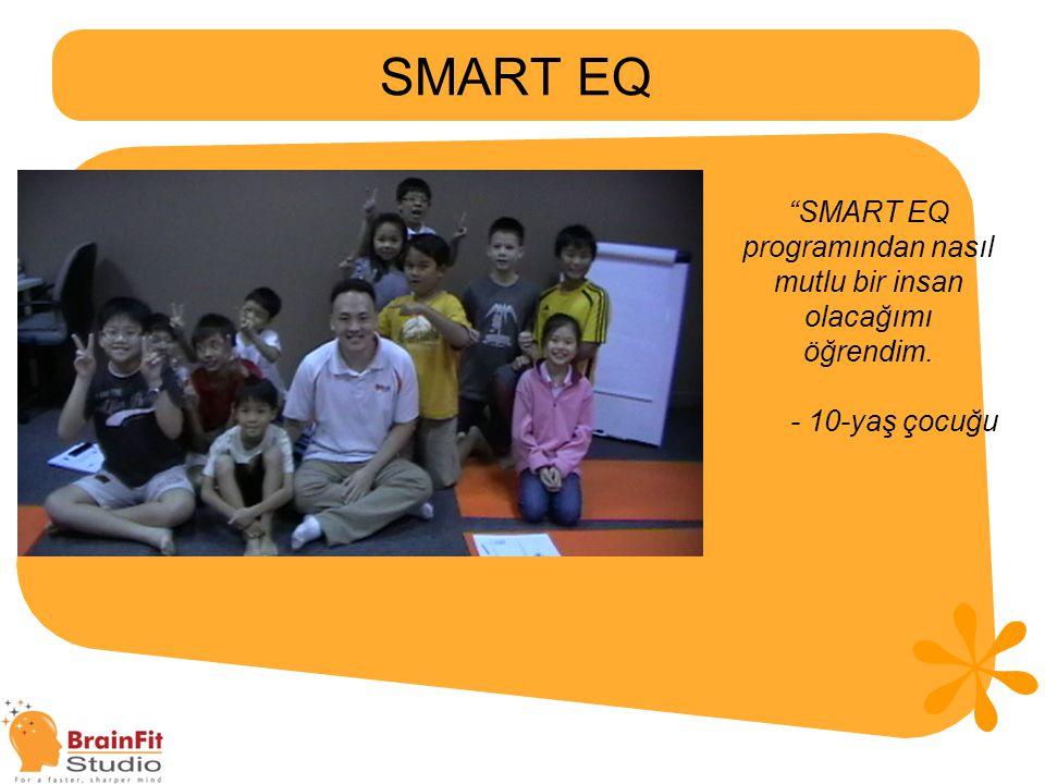 SMART EQ programından nasıl mutlu bir insan olacağımı öğrendim.