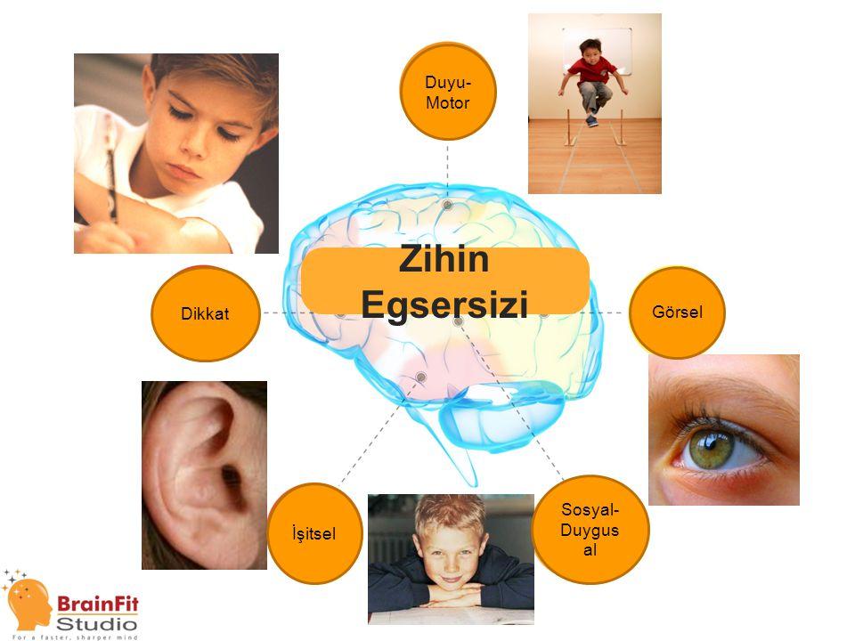 Brain Fitness Zihin Egsersizi Duyu-Motor Dikkat Görsel Sosyal-Duygusal