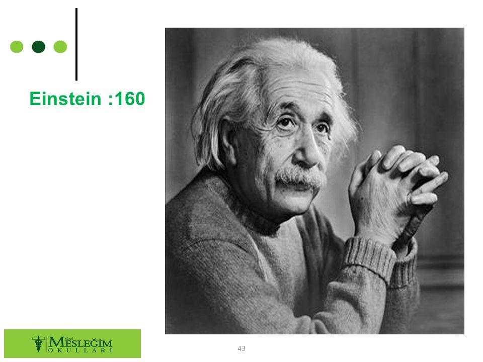 Einstein :160