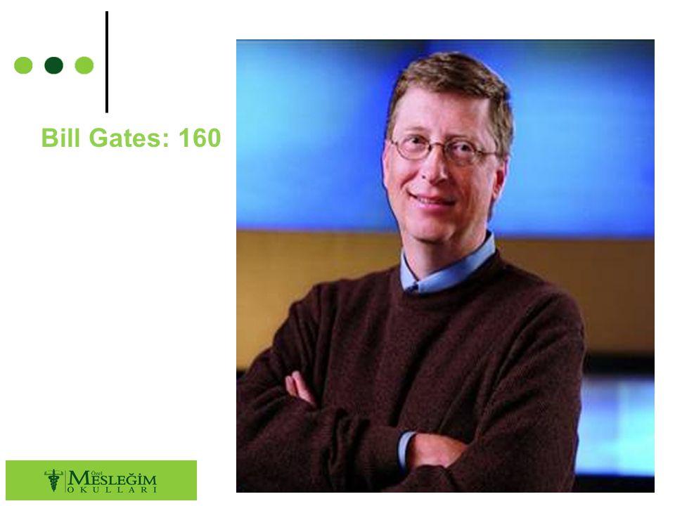 Bill Gates: 160