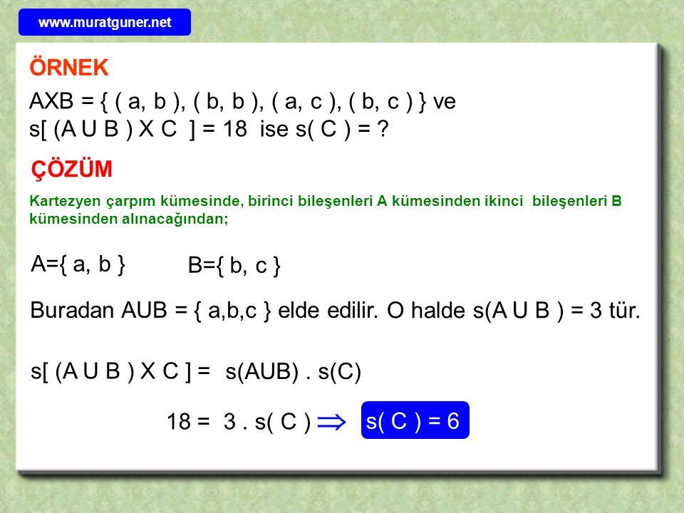 www.muratguner.net ÖRNEK.