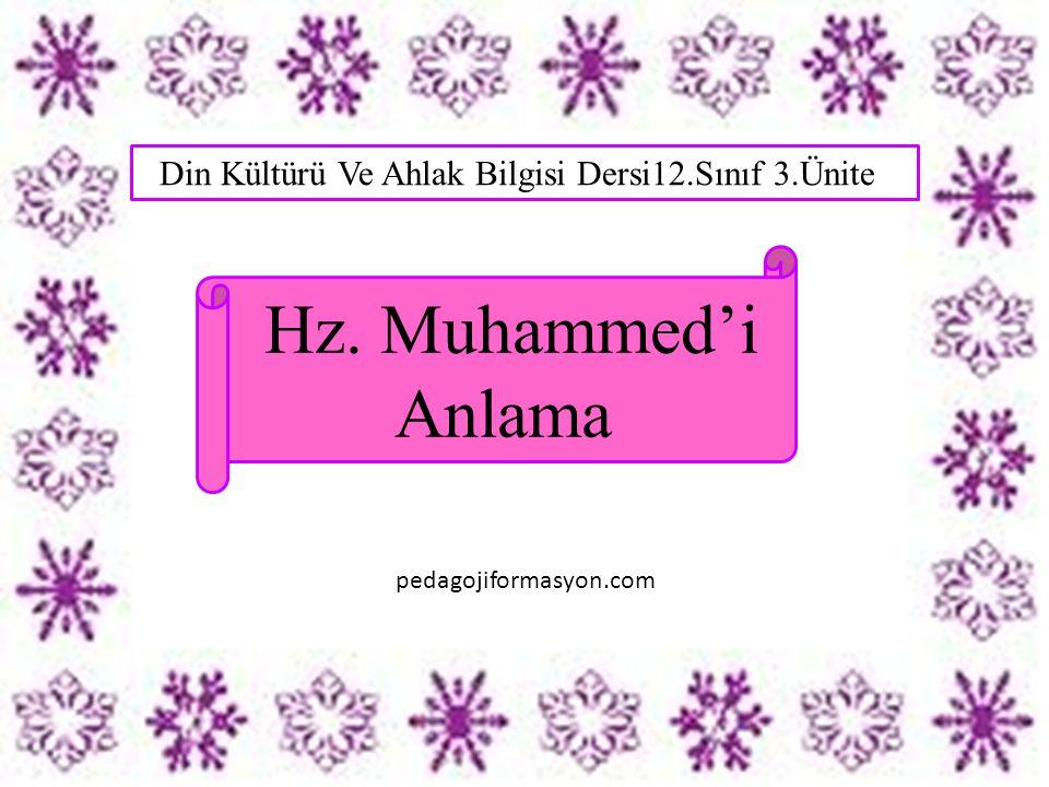 Din Kültürü Ve Ahlak Bilgisi Dersi12.Sınıf 3.Ünite