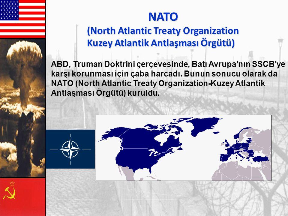 NATO (North Atlantic Treaty Organization