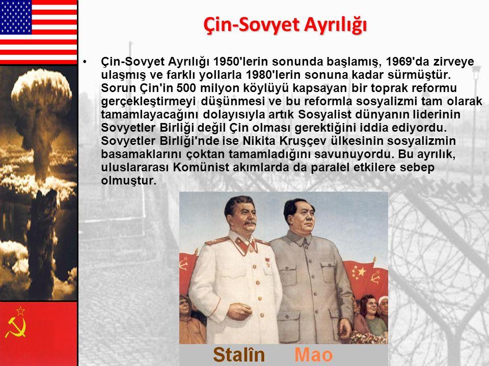 Çin-Sovyet Ayrılığı