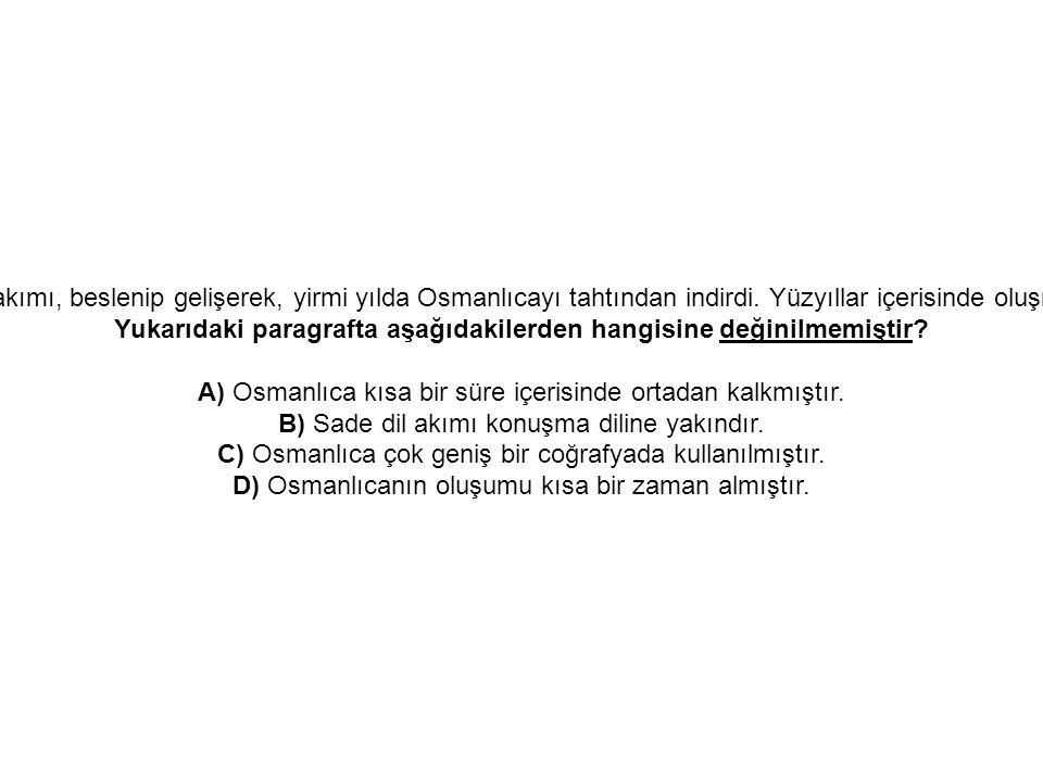 11. Zavallı Osmanlıca. Ne kadar kolay yıkılıp gitti