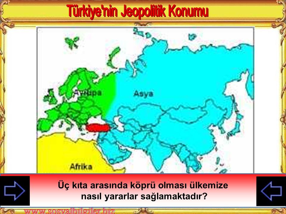 Türkiye nin Jeopolitik Konumu