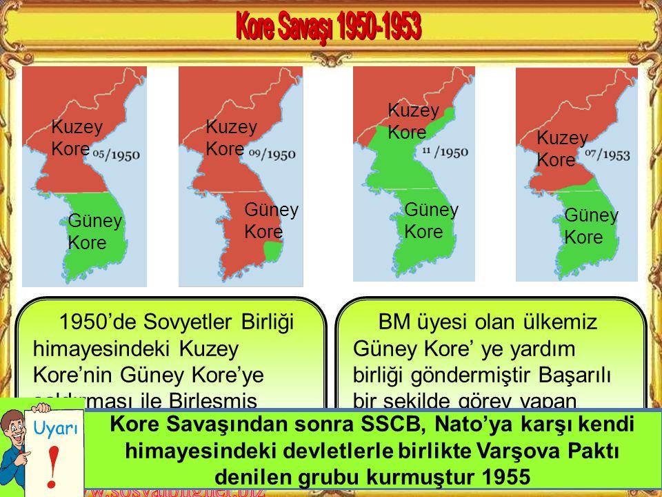 Türkiye'nin Kore Savaşına girmesi NATO üyeliğine