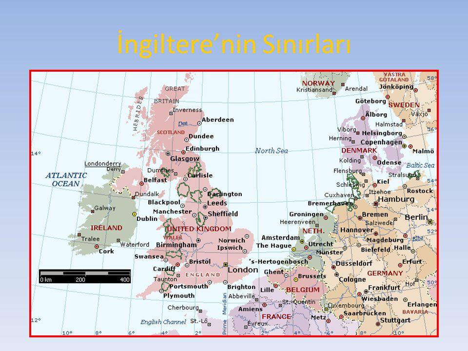 İngiltere'nin Sınırları