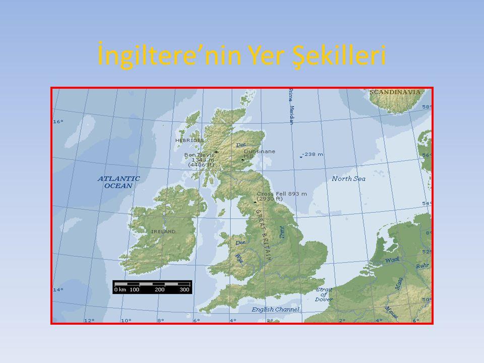 İngiltere'nin Yer Şekilleri