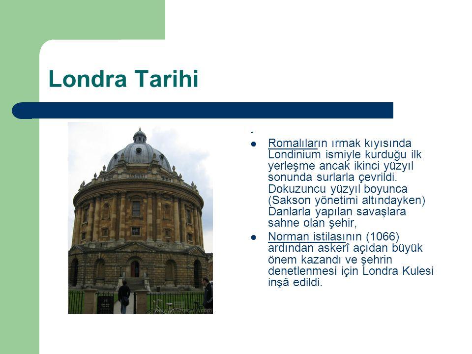 Londra Tarihi .
