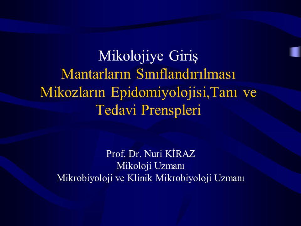 Mikrobiyoloji ve Klinik Mikrobiyoloji Uzmanı