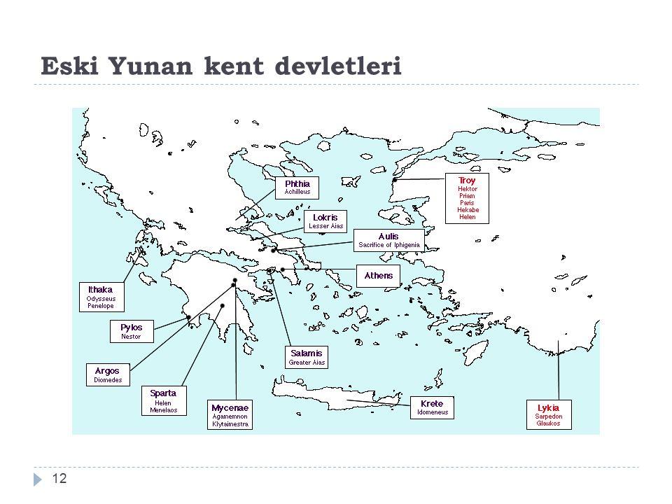 Eski Yunan kent devletleri