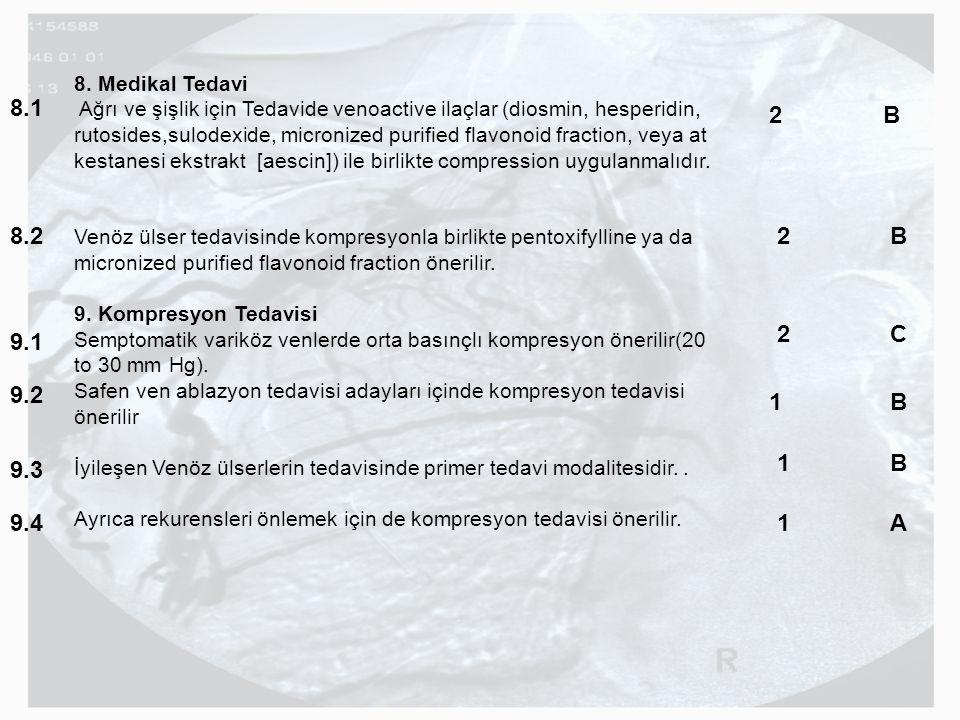 8. Medikal Tedavi