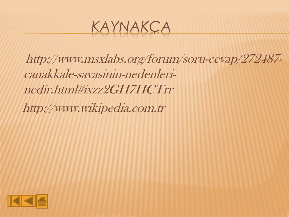 Kaynakça http://www.msxlabs.org/forum/soru-cevap/272487-canakkale-savasinin-nedenleri-nedir.html#ixzz2GH7HCTrr http://www.wikipedia.com.tr