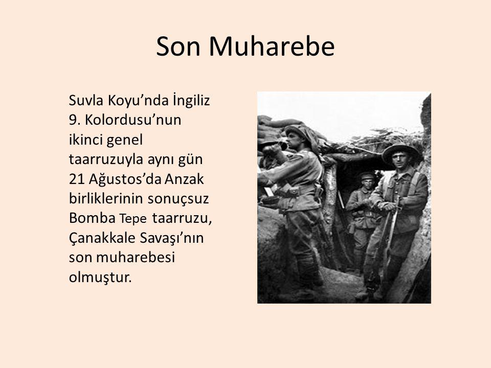 Son Muharebe