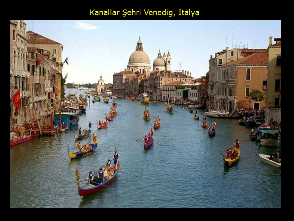 Kanallar Şehri Venedig, İtalya
