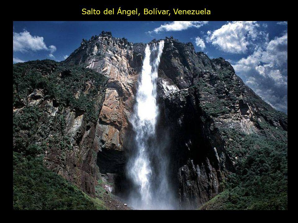 Salto del Ángel, Bolívar, Venezuela