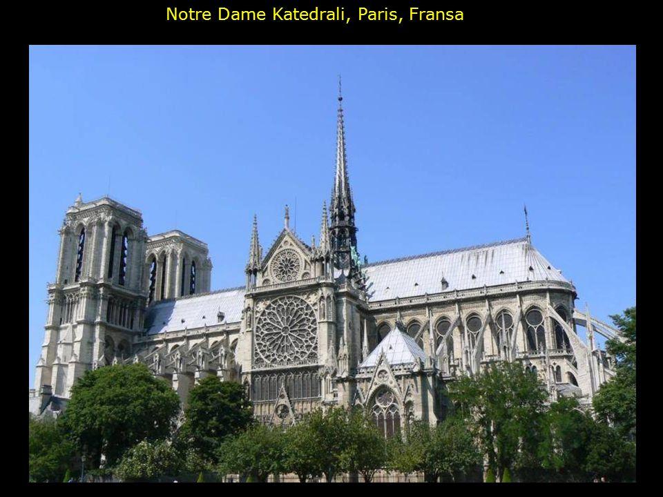 Notre Dame Katedrali, Paris, Fransa