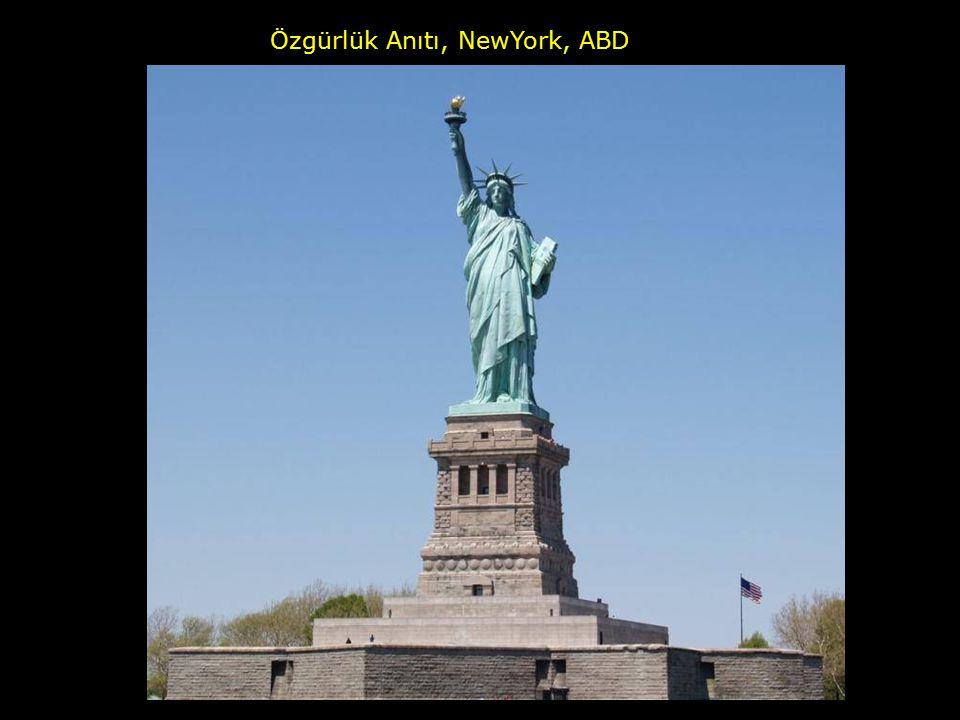 Özgürlük Anıtı, NewYork, ABD