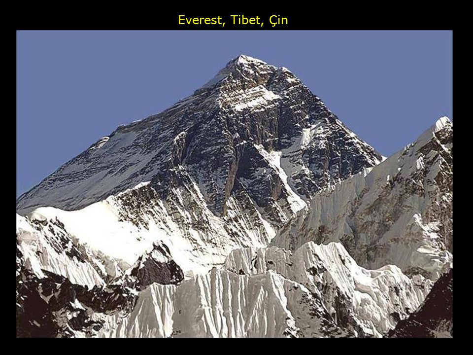 Everest, Tibet, Çin