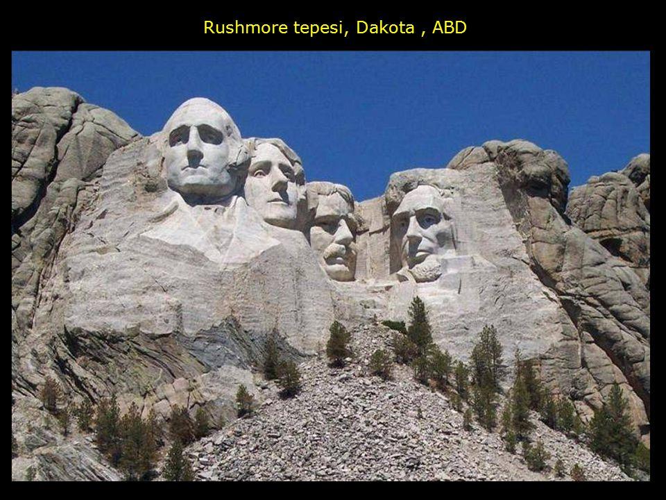 Rushmore tepesi, Dakota , ABD