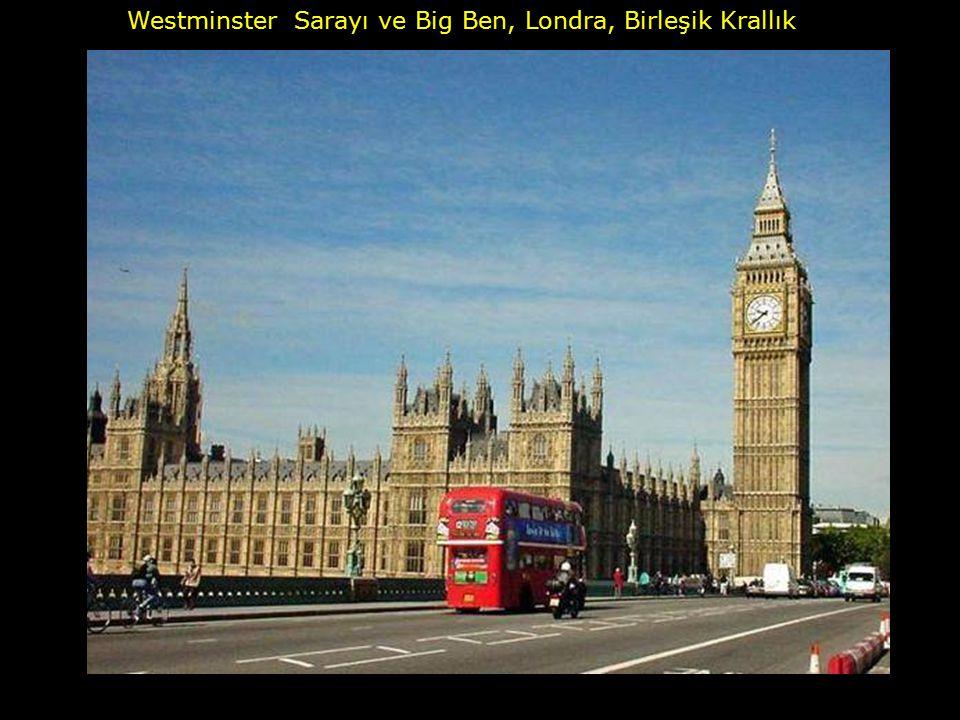 Westminster Sarayı ve Big Ben, Londra, Birleşik Krallık