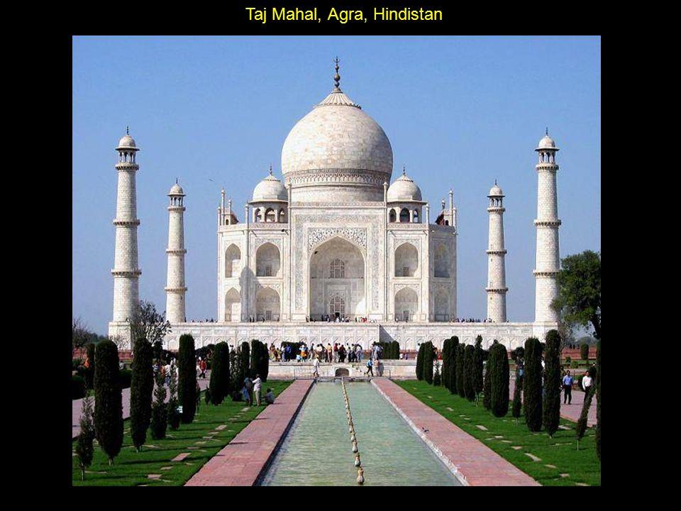 Taj Mahal, Agra, Hindistan