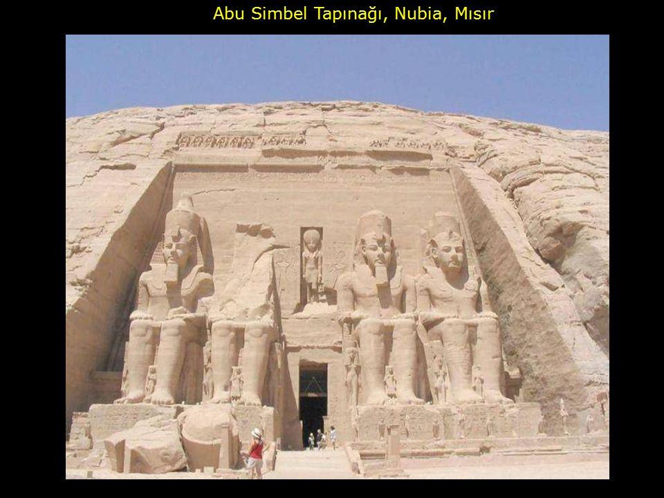 Abu Simbel Tapınağı, Nubia, Mısır
