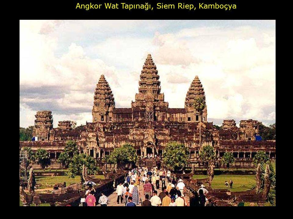Angkor Wat Tapınağı, Siem Riep, Kamboçya