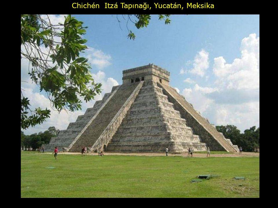 Chichén Itzá Tapınağı, Yucatán, Meksika