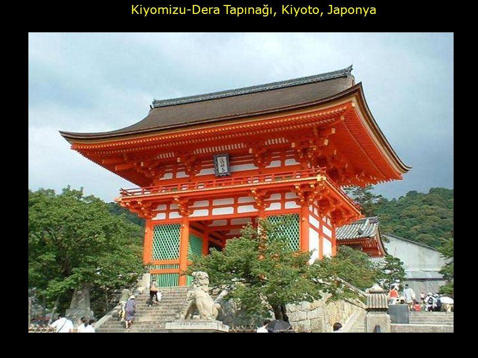 Kiyomizu-Dera Tapınağı, Kiyoto, Japonya