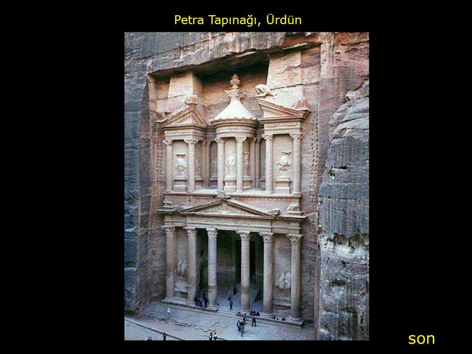 Petra Tapınağı, Ürdün son